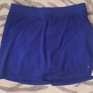 Danskin blue workout skort small